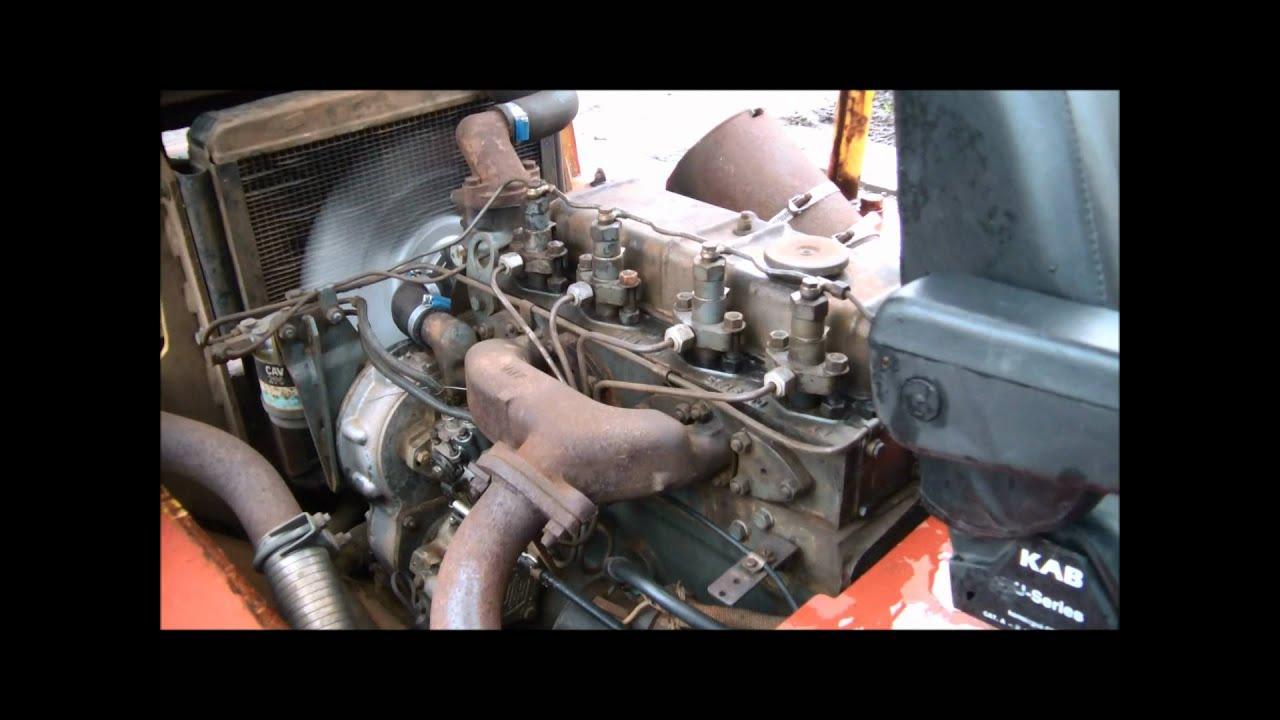 Perkins 4 Cylinder Diesel Starten Doovi