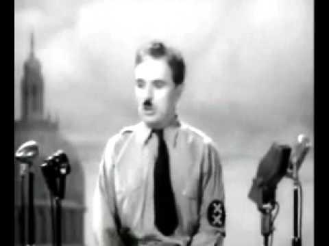 Charlie Chaplin Occupy's Wall Street.
