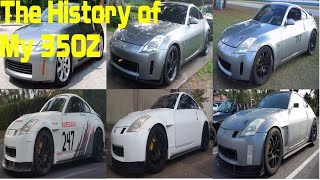 homepage tile video photo for The History of My Modified 350Z