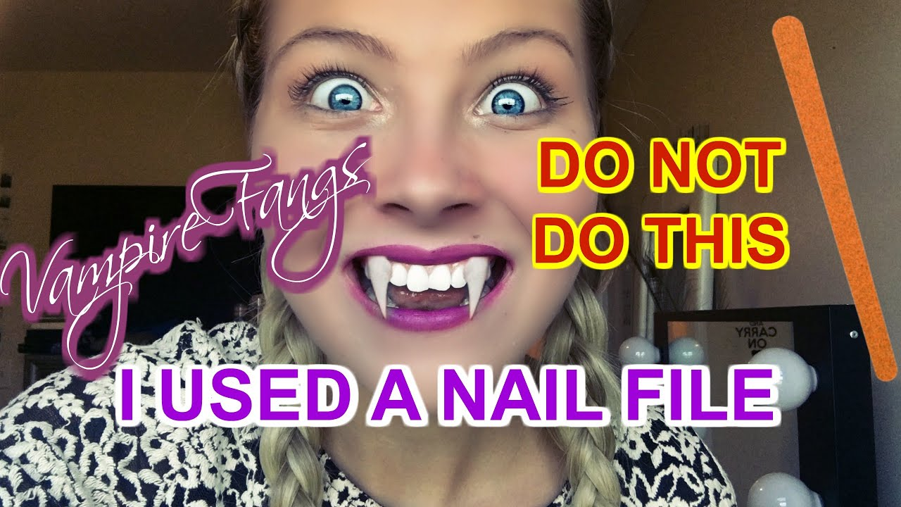 Filing My Teeth With A Nail File Horror Story