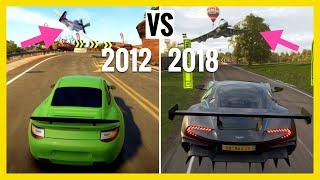 Forza Horizon 1 to 4 |Car VS Jet / Plane |Showcases Evolution / Comparison