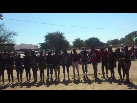 AFRICAN, NAMIBIAN, KAVANGO, RUNDU CULTURAL DANCE. 2014 rundu seconary school, 12H