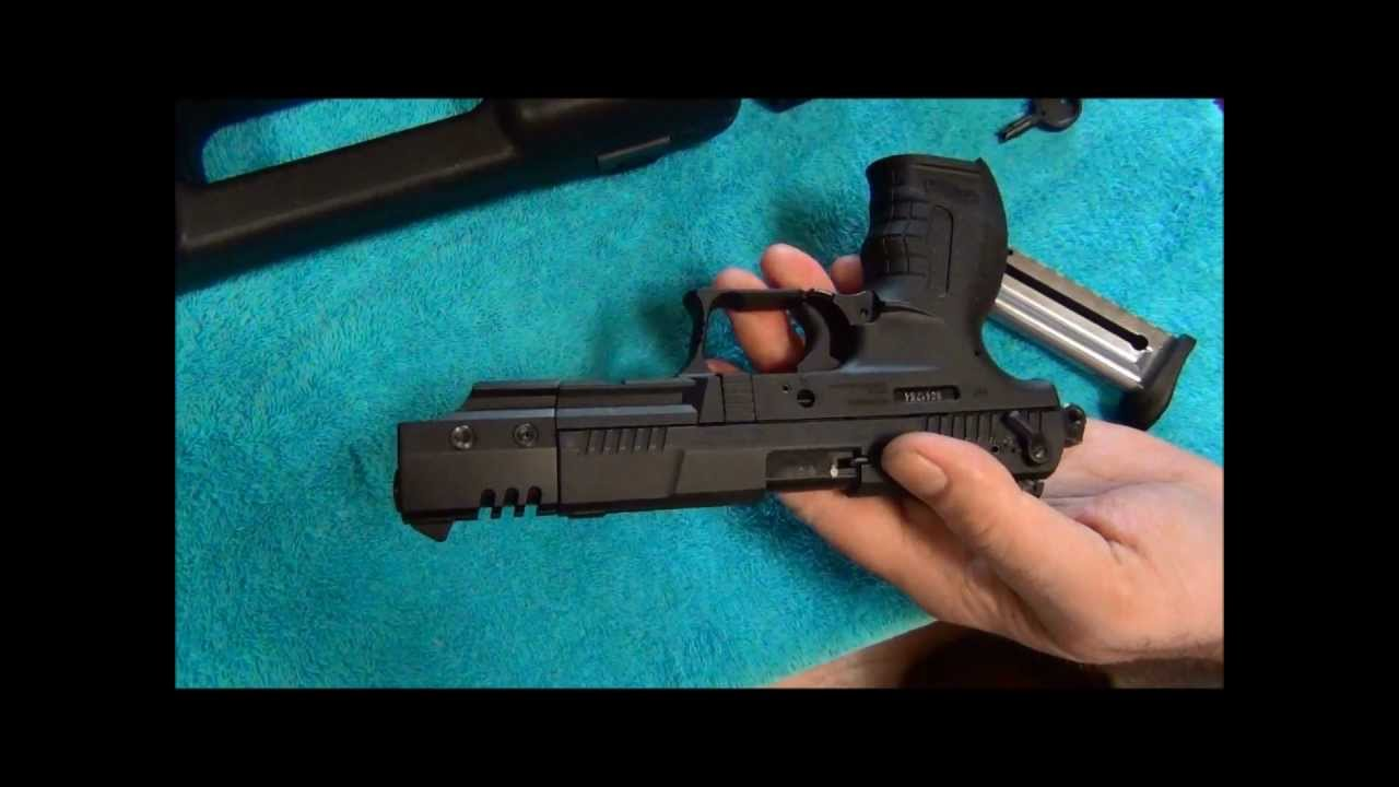 Walther P22 with 5 InchTarget Barrel