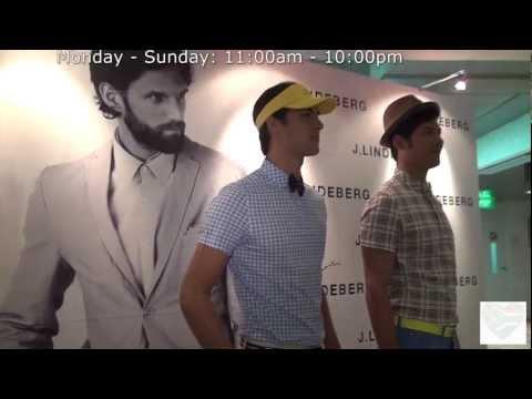 J.Lindeberg Launch at Mandarin Gallery