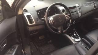 3D автомобильные коврики в салон Mitsubishi Outlander XL (Митсубиси Аутлендер XL) 2006-2012 Luxmats