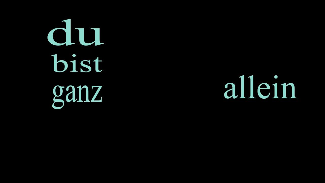 Kontra K An Deiner Seite Kinetic Typography Hochschule