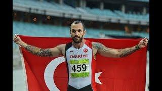 Ramil Guliyev 200m 1. Oldu!! - European Championship Semi-Final