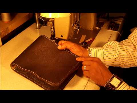 How to make Leather Messenger Bag Part 6 of 7