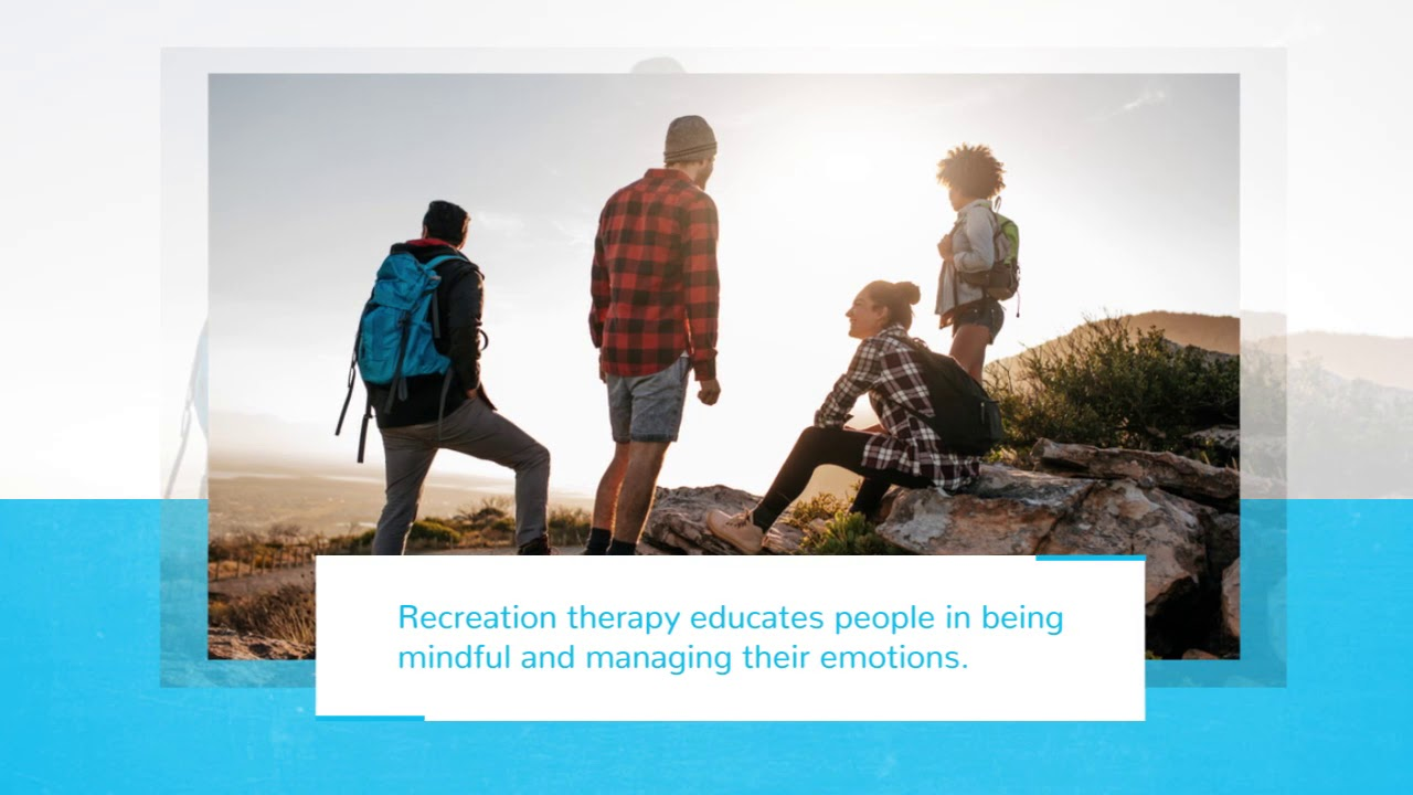 recreation therapy acqua recovery youtube