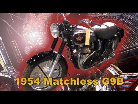 Clymer Manuals Matchless GB9 Motorcycle Walk Around Video G9 AJS Model 20