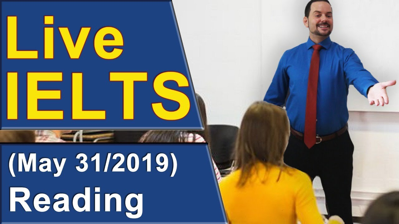 Ielts Live Reading Practice For Band 9