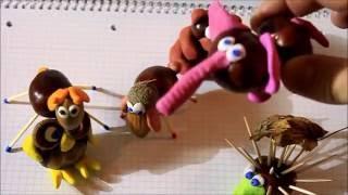 Поделки из каштанов своими руками DIY