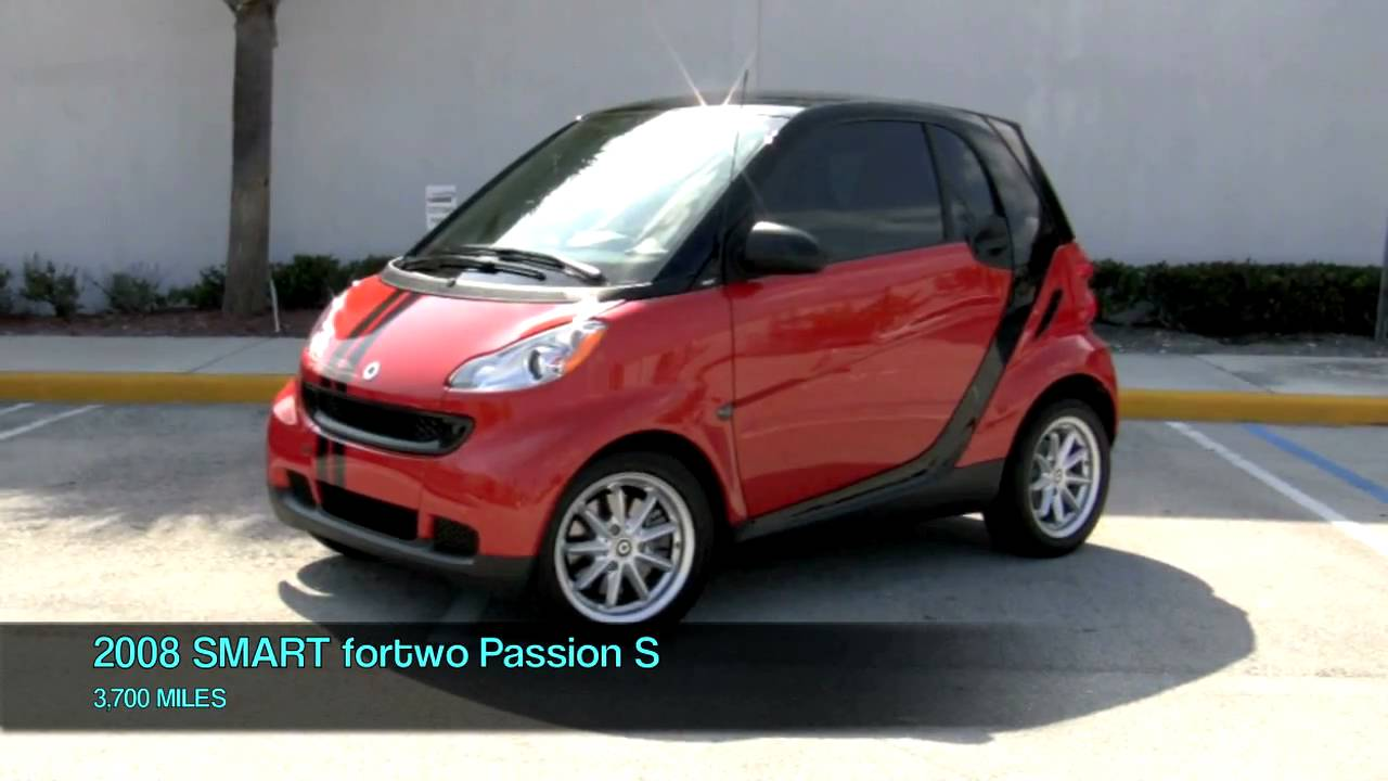 2008 smart car fortwo passion s youtube. Black Bedroom Furniture Sets. Home Design Ideas