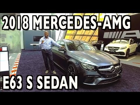 A Stunning Sports Sedan: 2018 Mercedes-AMG E63 S Review with Jay Chudi