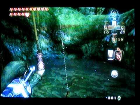 Zelda Twilight Princess How To Fish (wii)