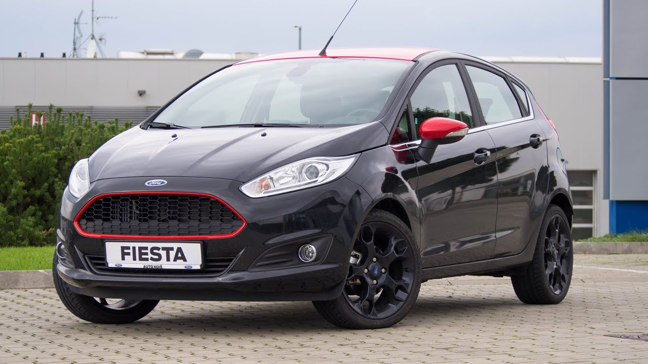 All Black Ford Fiesta Ford Fiesta Red Black Edition Youtube