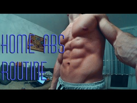 HOME ABS ROUTINE ( EXERCISES FOR SIX-PACK) SIMPLE & EFFECTIVE