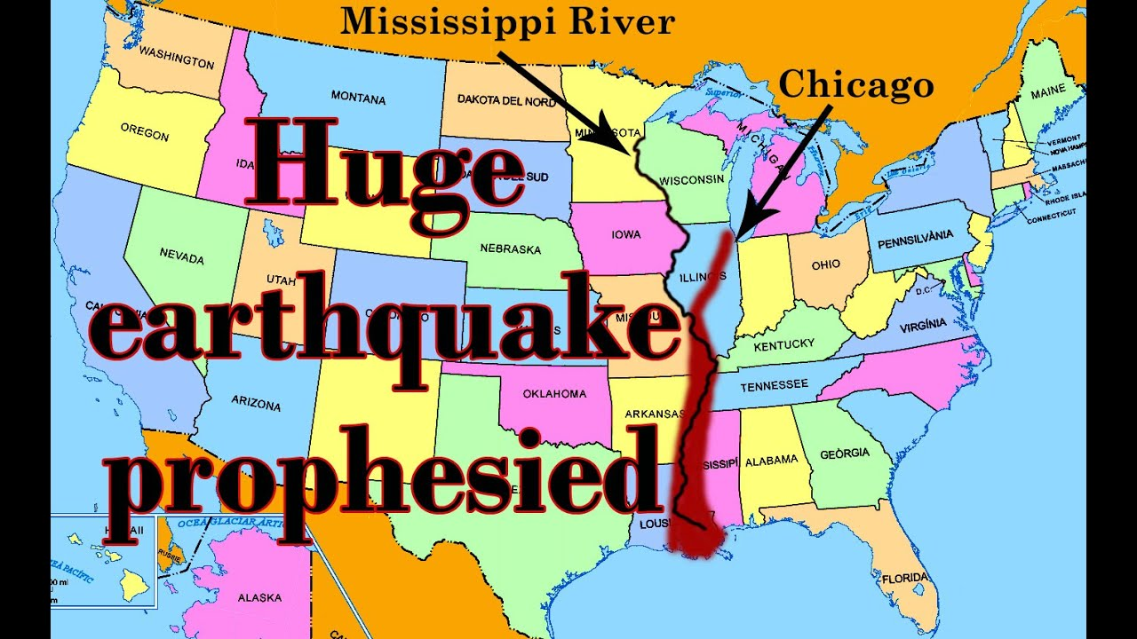 Prophecies That America Will Be Split By A Huge Earthquake When It Betrays Israel Youtube