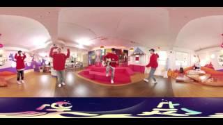 [360도 VR영상] 반달랜드에 숨어있는 괴물쌤을 찾아라! - 반달친구 WINNER