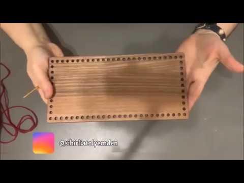 ❣️İlk Kez Örgü Çanta Yapacaklar İzlemeli 😍 Yapımı Kolay Tığ İşi Kağıt ip Örgü Çanta Tarifi-Easy Bag