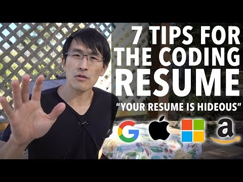 7 Tips for the Coding Resume (for Software Engineers)