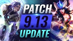 NEW UPDATE: Best Champions TIER LIST – League of Legends Patch 9.13