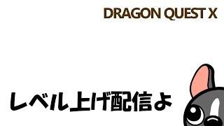 【ドラクエ10実況】レベル上げ配信する+α