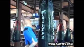 Steve Mckinnon; Australian Champion From Bull Dog Gym Training At Fairtex Bangplee
