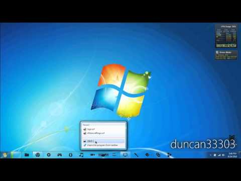 How to Customize Your Windows 7 Taskbar