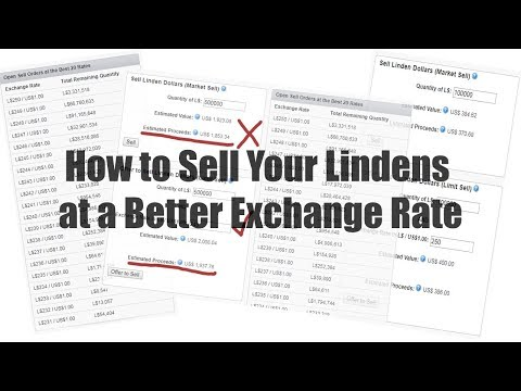 How to Sell Your Lindens at a Better Exchange Rate in Second Life - #SecondLifeChallenge