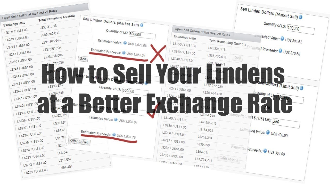 How To Your Lindens At A Better Exchange Rate In Second Life Secondlifechallenge