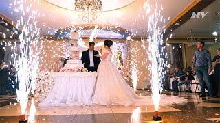 Свадебный торт на свадьбе Самвела и Агавни