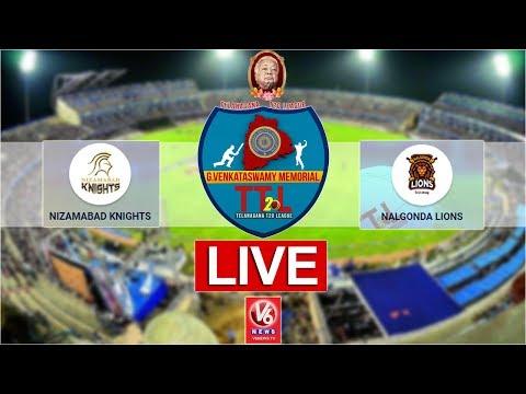 Nalgonda Lions vs Nizamabad Knights LIVE | G Venkataswamy Memorial Telangana T-20 League