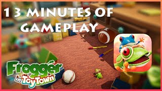 Apple Arcade :: Frogger in Toy Town Gameplay on iOS