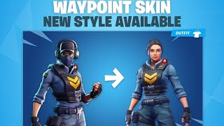 How To Unlock No Mask For The Waypoint Skin In Fortnite #FearChronic