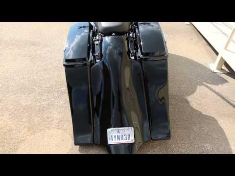 Custom Harley Bagger Audio Stereo Speakers & Sound System