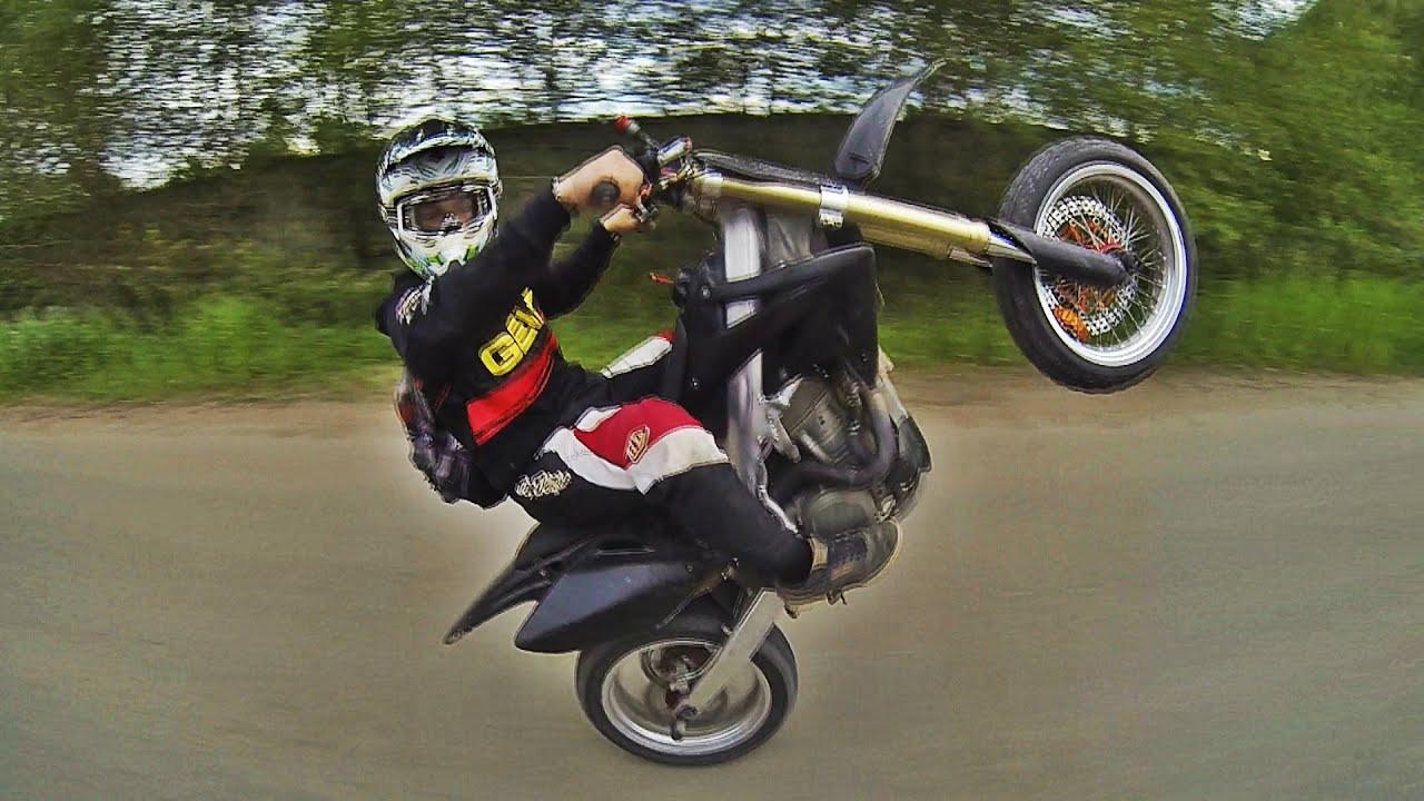 Обзор мотоцикла Honda CRF 450 Motard tuning kit 500cc