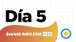 Juegos Olímpicos de la Juventud - Día 05