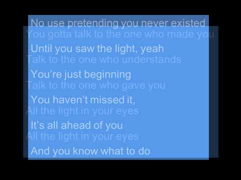 Light In Your Eyes- Sheryl Crow Lyrics