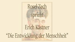 """Erich Kästner – """"Die Entwicklung der Menschheit"""""""