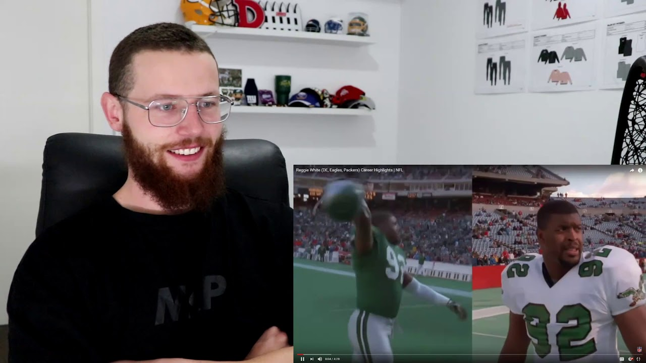 Rugby Player Reacts to REGGIE WHITE