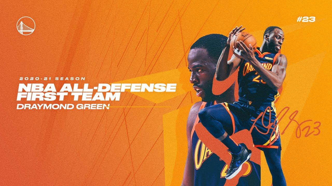 Draymond Green Makes NBA All-Defensive First Team 💪