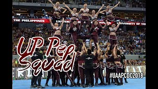 UP Pep Squad - UAAP Cheerdance Competition 2018