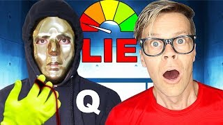 Lie Detector Test on Hacker to find Truth w/ Face Reveal! (Is Game Master Real?) Matt and Rebecca Video