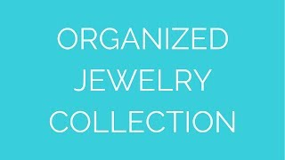 Jewelry Organization In A Drawer