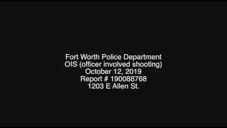 RAW: Fort Worth police release body cam after officers shoot woman in her home