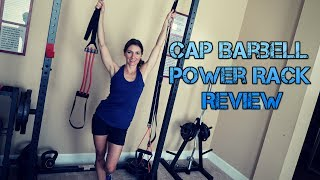 cap barbell power rack review and thoughts four stars