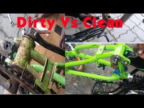 How to Clean Rusted Cycle?| Remove Rust