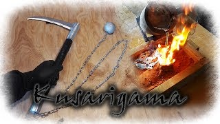 Aluminum Metal Casting The Kusarigama (Japanese Weapon)