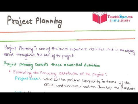 18- Project Planning In Software Engineering In HINDI Project